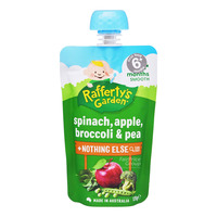 Rafferty's Garden Baby Food - Spinach, Apple, Broccoli & Pea