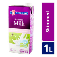 Emborg UHT Milk - Skimmed
