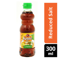 Knife Brand Thai Fish Sauce - Reduced Salt
