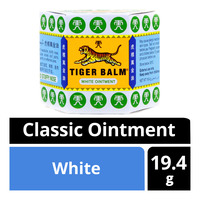 Tiger Balm Classic Ointment - White