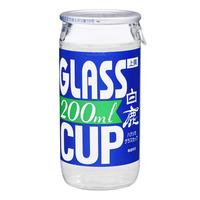 Hakushika Glass Cup Sake