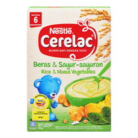 Nestle Cerelac Cereal - Rice & Mixed Vegetables (6 Months)