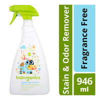 Babyganics Stain & Odor Remover Spray - Fragrance Free