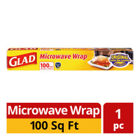 Glad Microwave Wrap (100 square feet)
