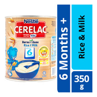 Nestle Cerelac Cereal - Rice & Milk (6 Months)