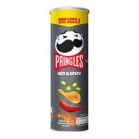 Pringles Potato Crisps - Hot & Spicy