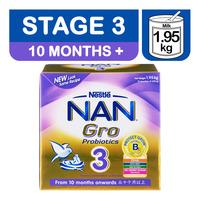 Nestle Nan Gro Follow Up Milk Formula - Stage 3