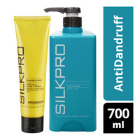 Silkpro Shampoo - AntiDandruff + Treatment Conditioner