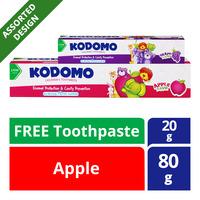 Kodomo Children Toothpaste - Apple + Grape