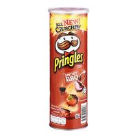 Pringles Potato Crisps - Smoky BBQ