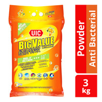 UIC Big Value Detergent Powder - Anti Bacterial (Citrus Splash)