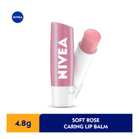 Nivea Caring Lip Balm - Soft Rose