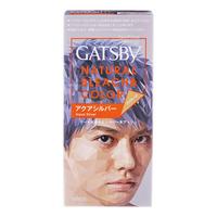 Gatsby Natural Hair Bleach & Colour - Aqua Silver