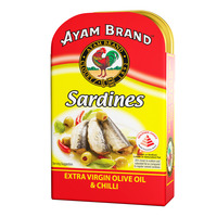 Ayam Brand Sardines - Extra Virgin Olive Oil & Chili