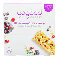 Yogood Yoghurt Coated Muesli Bars - Blueberry & Cranberry