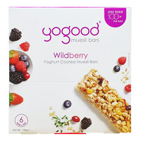 Yogood Yoghurt Coated Muesli Bars - Wildberry