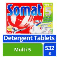 Somat Dishwash Detergent Tablets - Multi 5