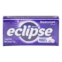 Wrigley's Eclipse Sugar Free Mints Candy - Blackcurrant