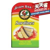 Ayam Brand Sardines - Chili & Lime Tomato Sauce