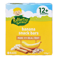 Rafferty's Garden Baby Fruit Snack Bar - Banana
