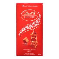 Lindt Lindor Chocolate Bar - Milk