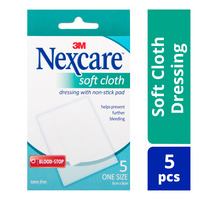 Nexcare Soft Cloth Dressing with Non-Stick Pad (6 x 8 cm)