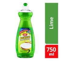 UIC Big Value Natural Dishwashing Liquid - Lime