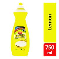 UIC Big Value Natural Dishwashing Liquid - Lemon