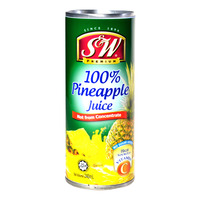 S&W Fruit Can Drink - 100% Pineapple Juice
