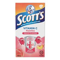 Scott's Vitamin C Pastilles - Peach