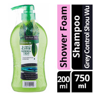 Follow Me Green Tea Shampoo + Nature's Path Shower Foam