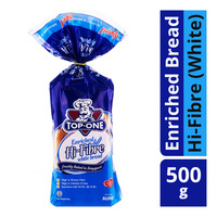 Top One Enriched Bread - Hi-Fibre (White)