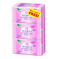 Laurier Active Fit Panty Liners - Fresh Floral