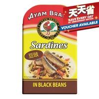 Ayam Brand Sardines - Black Beans