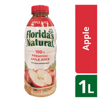 Florida's Natural 100% Fresh Bottle Juice - Apple