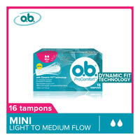 O.B ProComfort Tampons - Mini