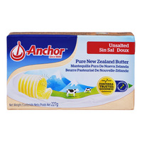 Anchor Pure New Zealand Block Butter - Unsalted