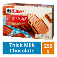 Delhaize Butter Biscuit - Thick Milk Chocolate