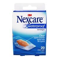 3M Nexcare Waterproof Bandages - Clean