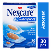 Nexcare Waterproof Bandages - Assorted