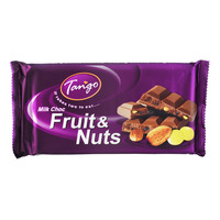 Tango Milk Chocolate Bar - Fruit & Nuts