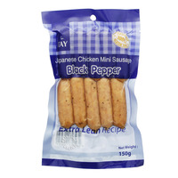 Tay's Japanese Extra Lean Chicken Mini Sausage - Black Pepper