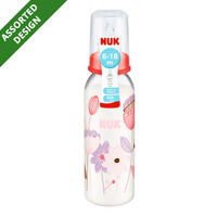 NUK PP Silicone Bottle - 6 to 18 months (Assorted)