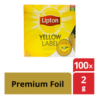 Lipton Yellow Label Tea Bags - Premium Foil