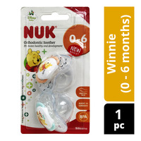 NUK Silicon Soother - Winnie (0 - 6 months)