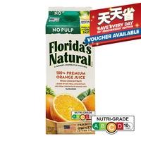 Florida's Natural 100% Orange Juice - No Pulp 1.75L