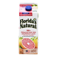 Florida's Natural 100% Fresh Juice - RubyRedGrapefruit(Calcium)