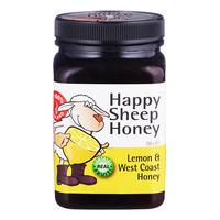 Happy Sheep Honey - Lemon & West Coast