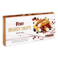 Fox's Seasonal Biscuits - Brandy Snaps