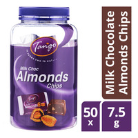 Tango Milk Chocolate Almonds Chips  50 x 7.5G